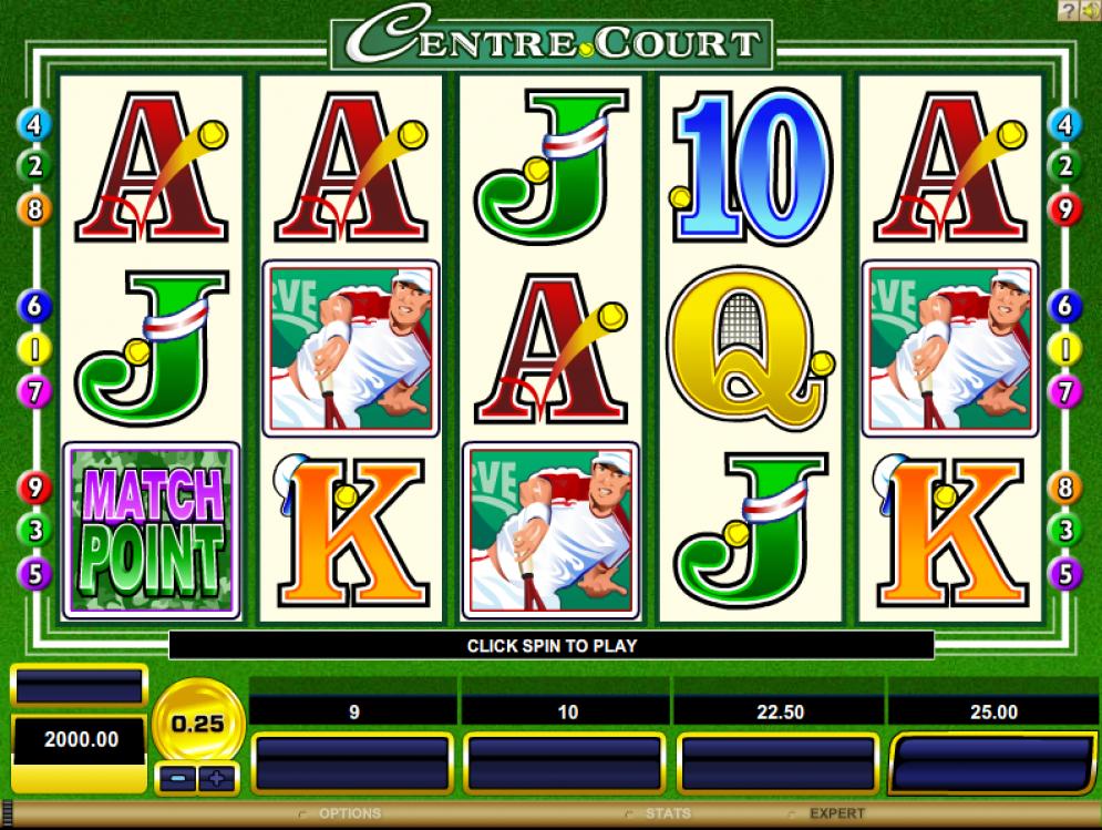 Centre Court Slot Images - CasinoTopp