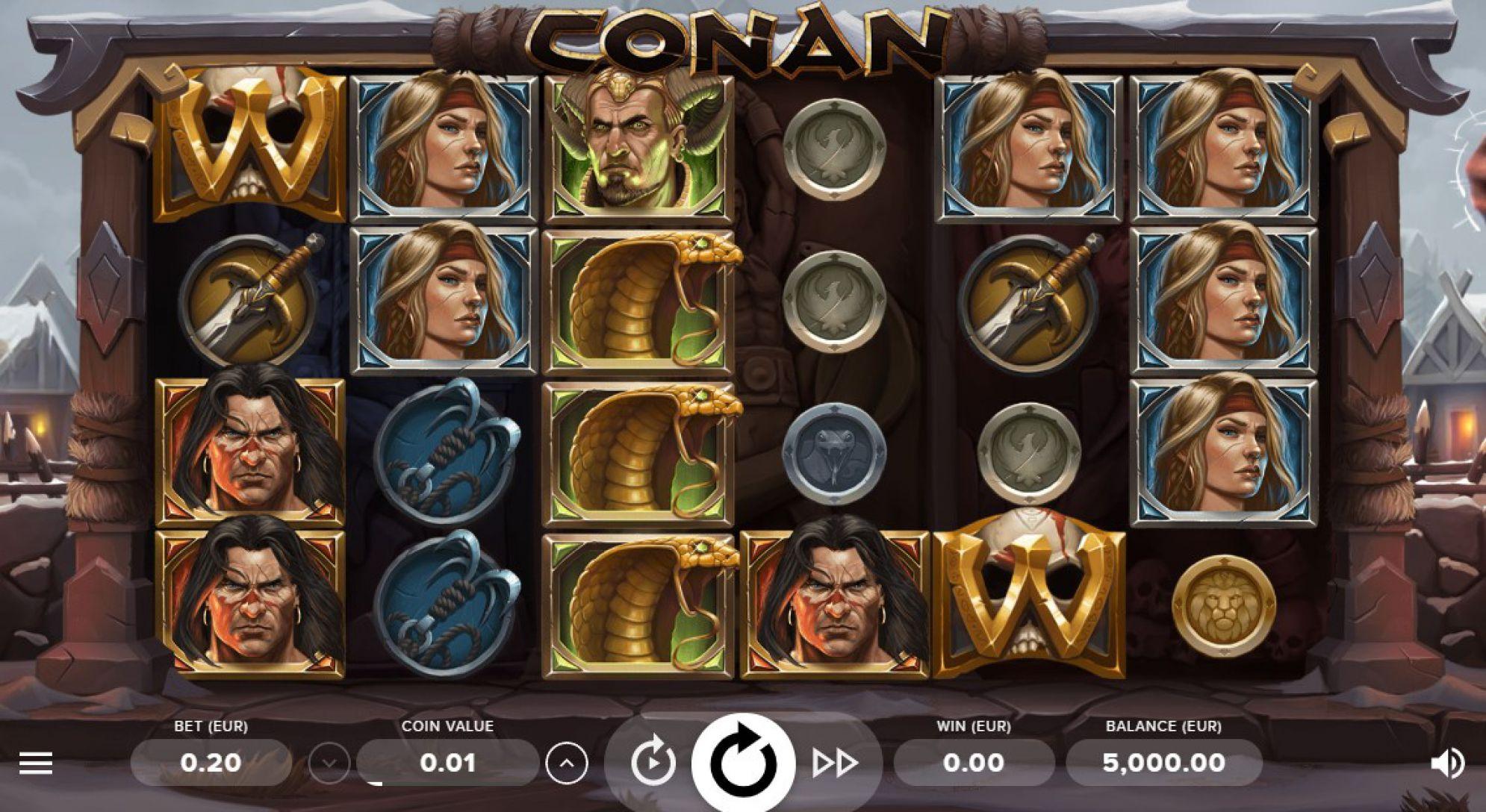 Conan Slot Images - CasinoTop