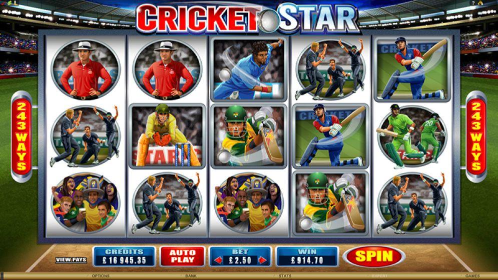 Cricket Star Slot Images - CasinoTopp