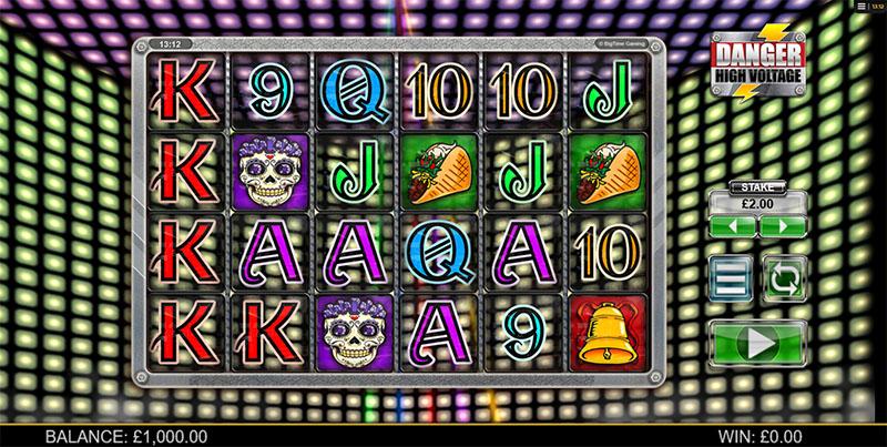 Danger High Voltage Slot Screenshot - CasinoTopp