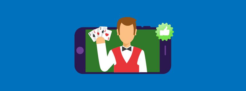 De beste Live Dealer-poker casinoene