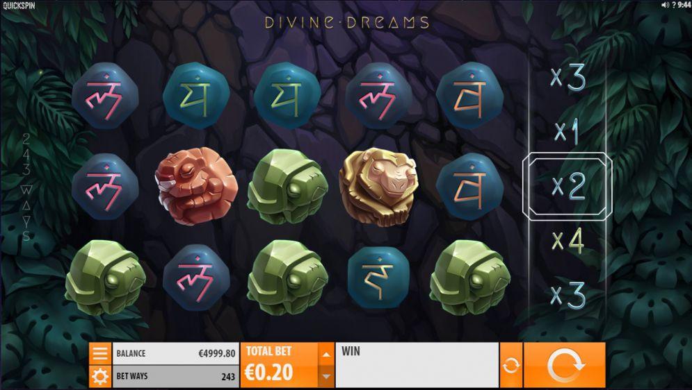 Divine Dreams Slot Images - CasinoTopp