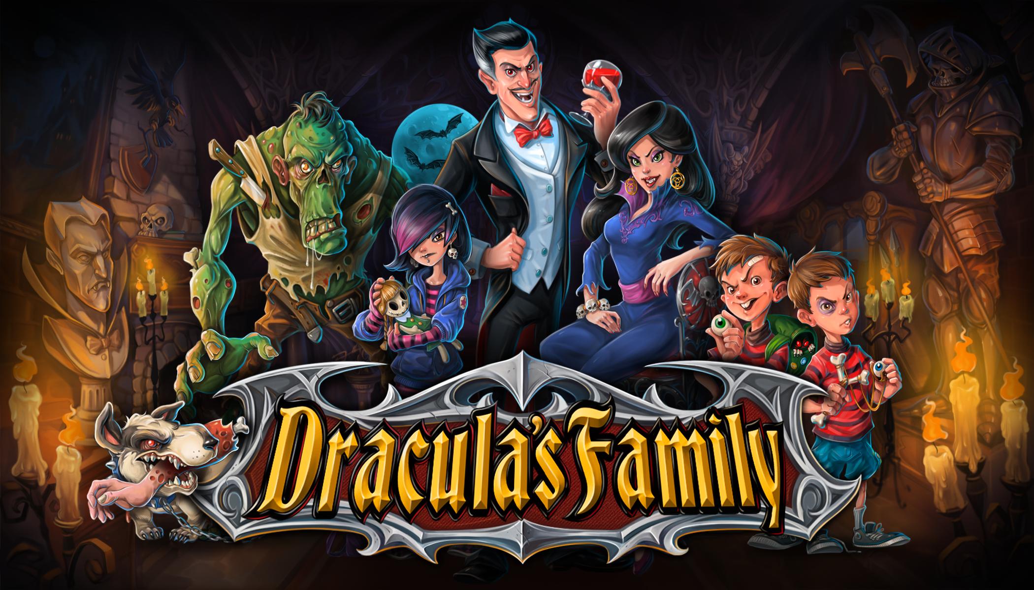 Dracula's Family Logo