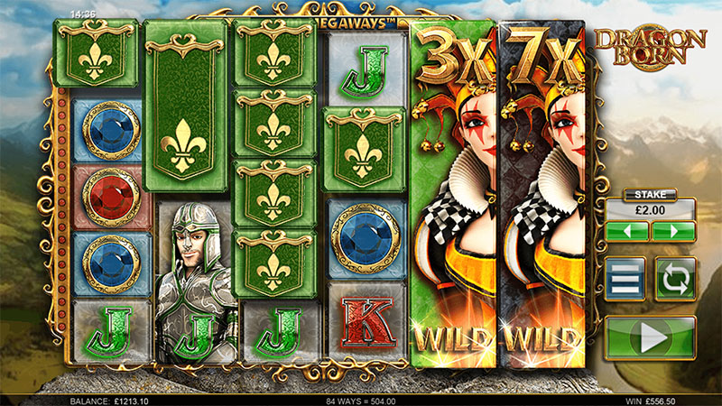 Dragon Born Slot Screenshot - CasinoTopp
