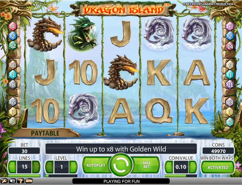 Dragon Island Slot Images - CasinoTopp