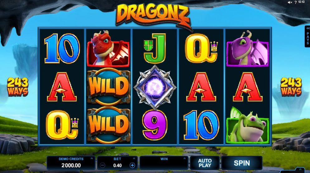 Dragonz Slot Images - CasinoTopp