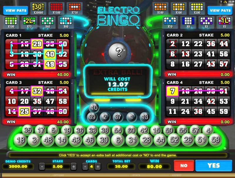 Electro Bingo Logo