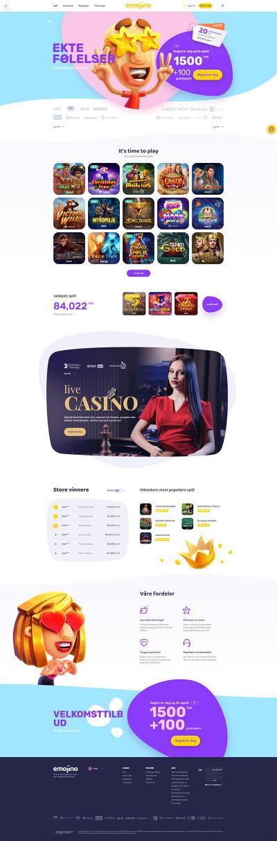 Emojino Casino Screenshot