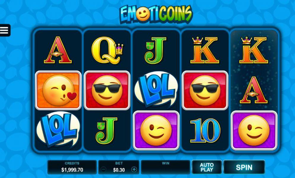 Emoticoins Slot Images - CasinoTopp