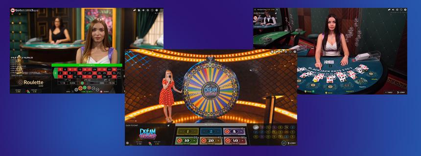 Evolution Gaming Spillutvalg - CasinoTopp