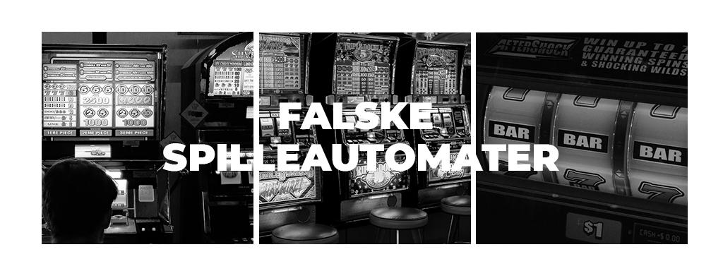 Falske spilleautomater - CasinotTopp