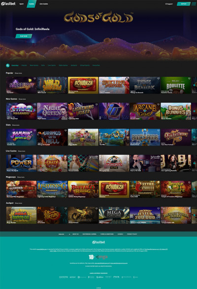 Fastbet Casino Screenshot