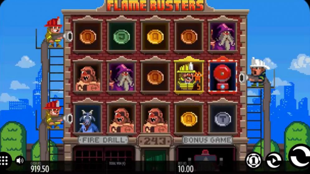 Flame Busters Slot Images - CasinoTopp