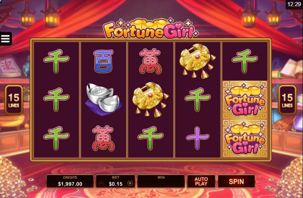 Fortune Girl Slot Images - CasinoTopp