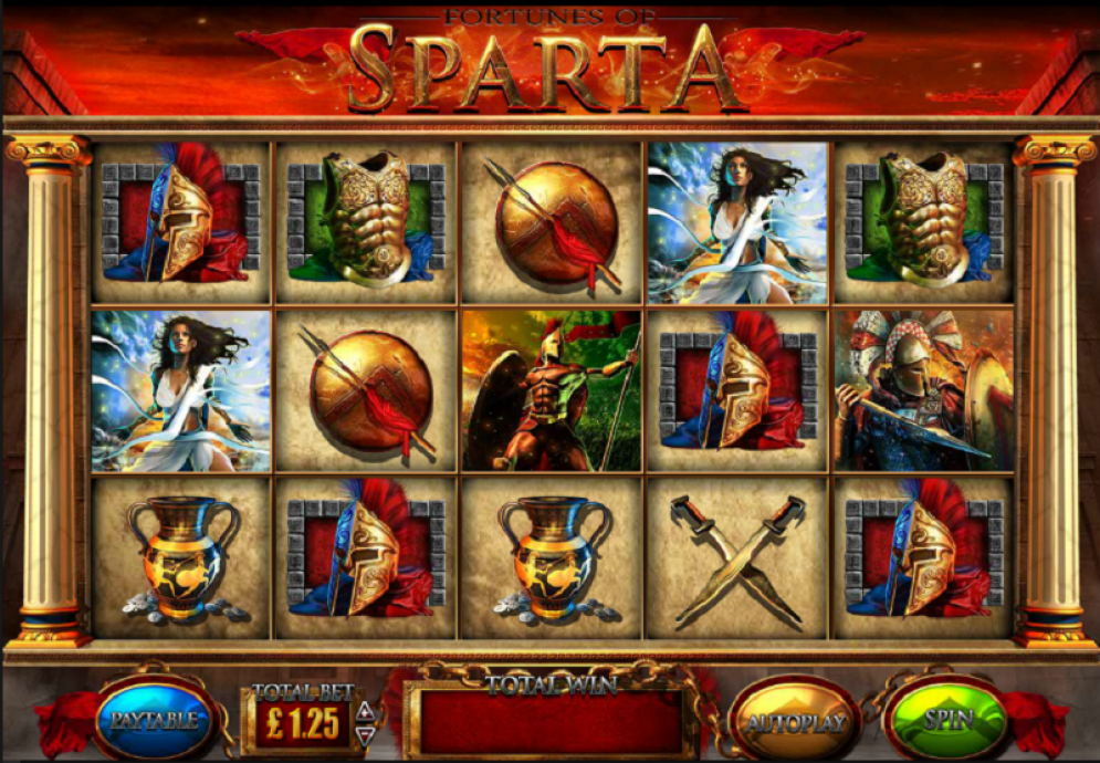 Fortunes of Sparta Slot - CasinoTopp