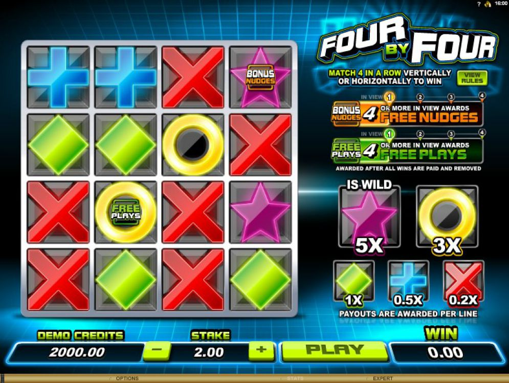 Four by Four Slot Images - CasinoTopp