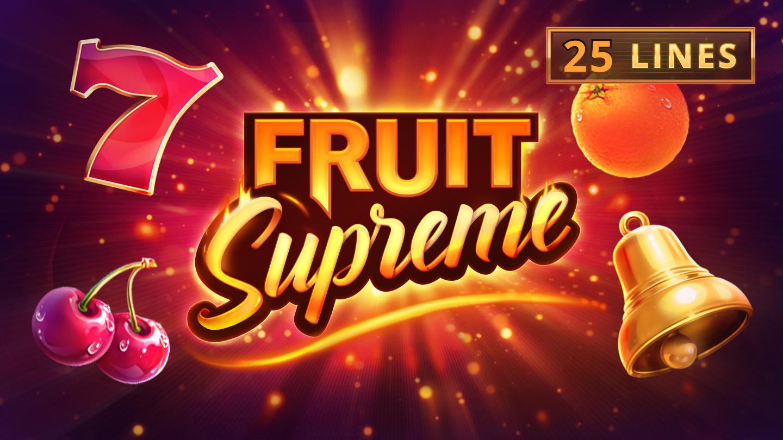 Fruit Supreme: 25 Lines Logo