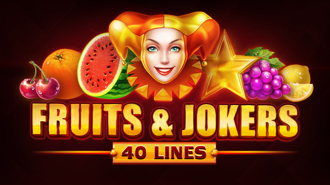 Fruits & Jokers: 40 Lines Logo