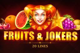 Fruits & Jokers: 20 lines Image