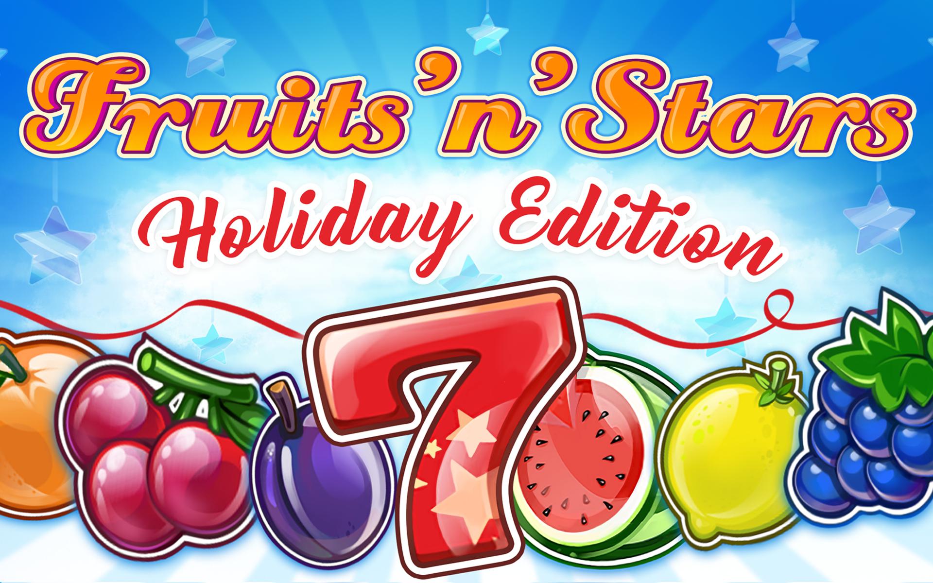 Fruits'n'Stars: Holiday Edition Logo