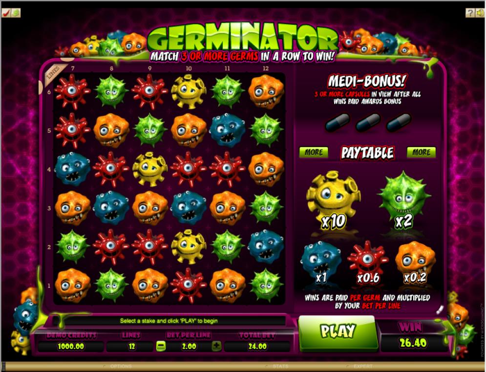 Germinator Slot Images - CasinoTopp