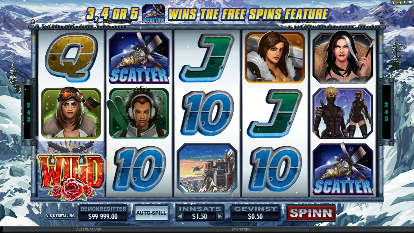 Girls with Guns 2 Slot Images - CasinoTopp