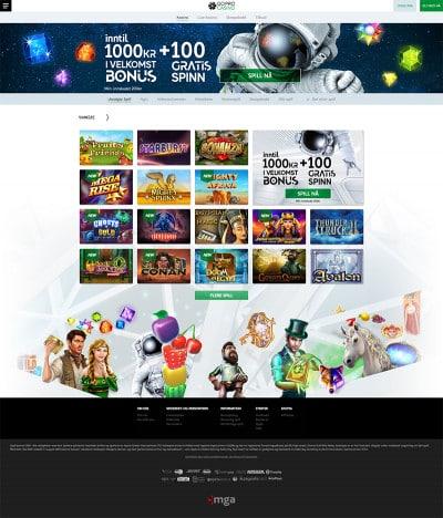 GoPro Casino Screenshot