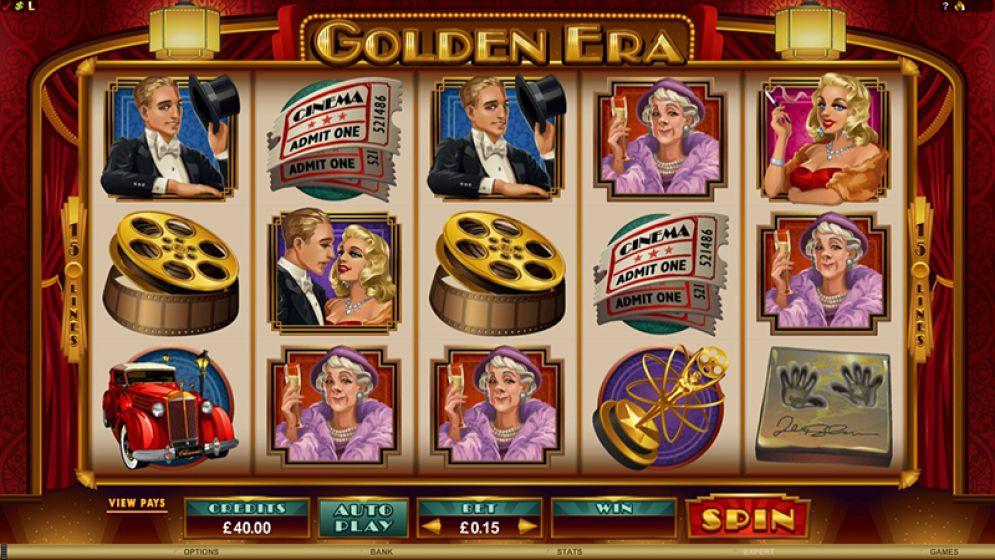 Golden Era Slot Images - CasinoTopp