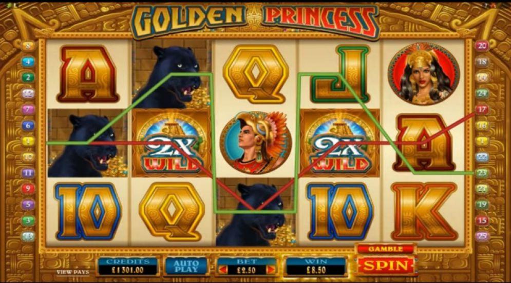 Golden Princess Slot Images - CasinoTopp