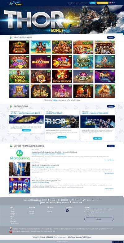 Gudar Casino Screenshot