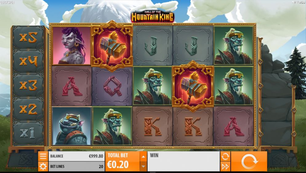 Hall of the Mountain King Slot Images - CasinoTopp