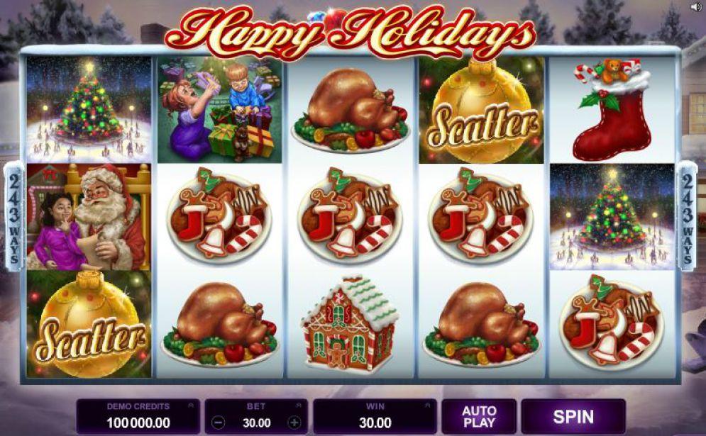 Happy Holidays Slot Images - CasinoTop