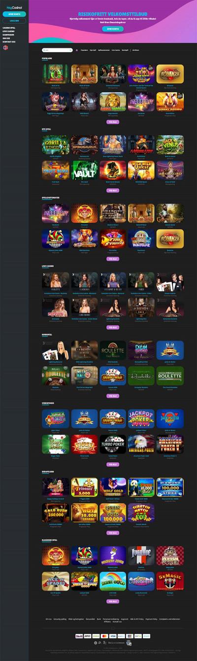 Hey Casino Screenshot