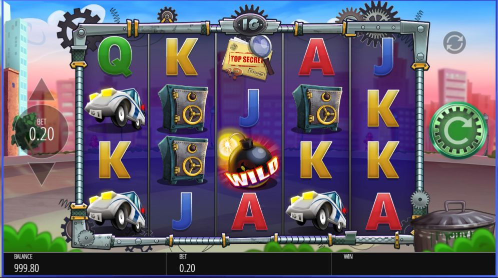Inspector Gadget Slot Images - CasinoTopp