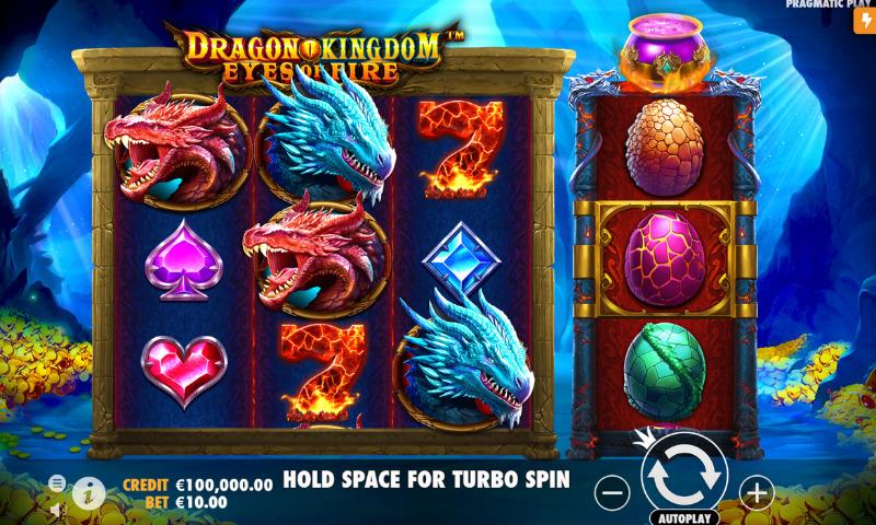 Hunt for Wealth in Pragmatic Plays Mesin Slot Baru Tangkapan Layar Dragon Kingdom Eyes of Fire - CasinoTopp