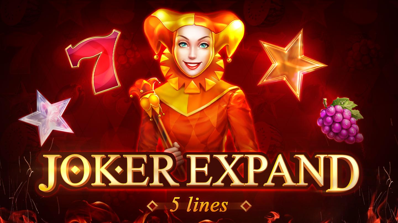 Joker Expand: 5 Lines Logo