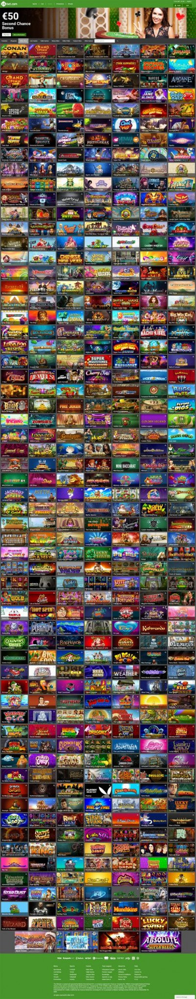 LSbet Casino Screenshot