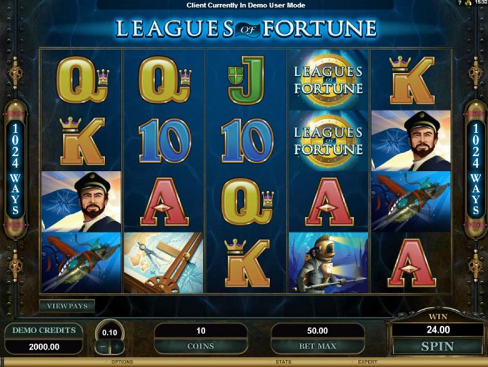 Leagues of Fortune Slot Images - CasinoTopp