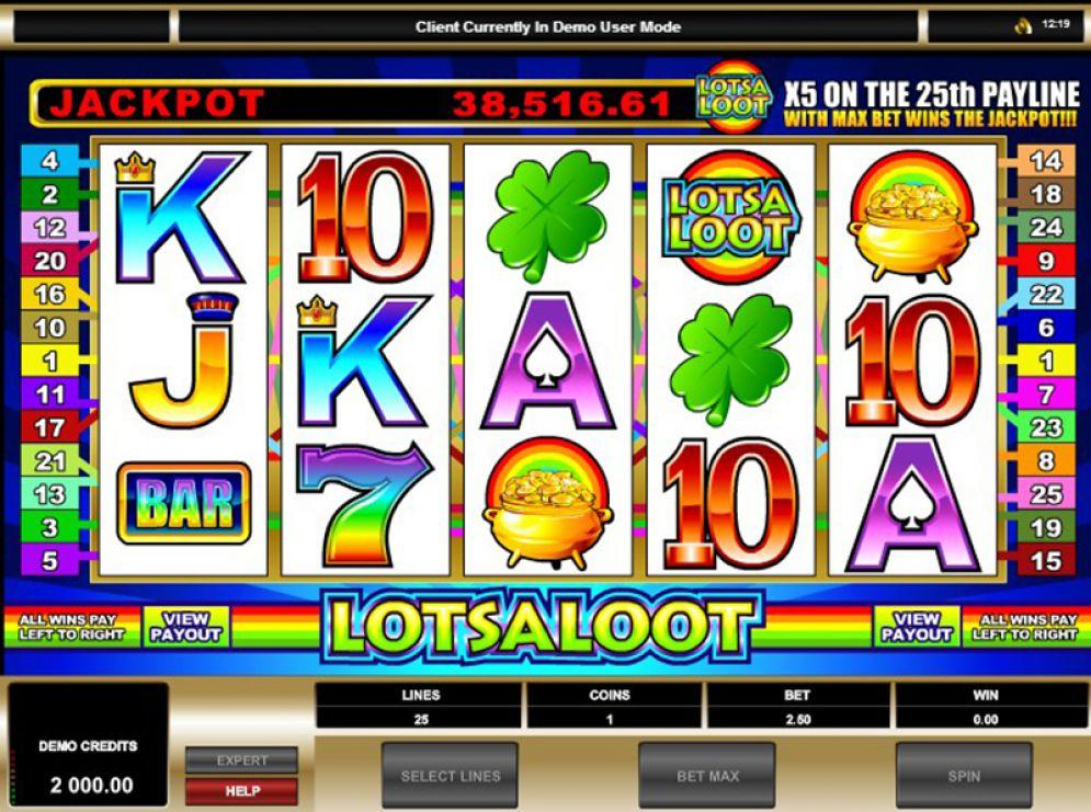Lots a Loot 3 Reel Logo
