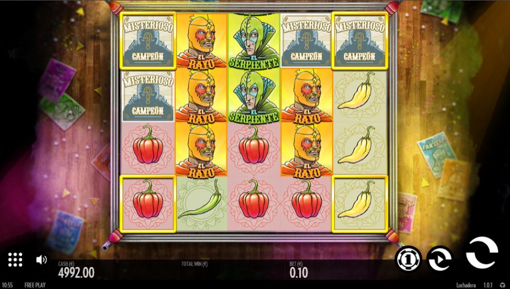 Luchadora Slot Images - CasinoTopp