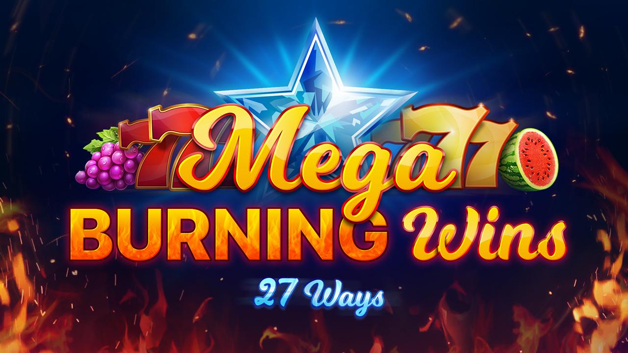Mega Burning Wins: 27 ways Logo