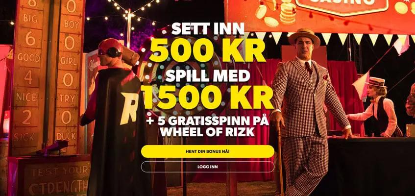 Norsk spiller vant nesten en million med en innsats pa 20 kroner Banner - CasinoTopp