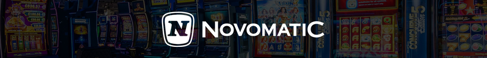 Novomatic Logo Banner - CasinoTopp