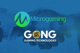 Nytt eksklusivt samarbeid mellom Microgaming og GONG Gaming Technologies