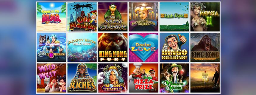 Nyx Interactive Spillutvalg - CasinoTopp