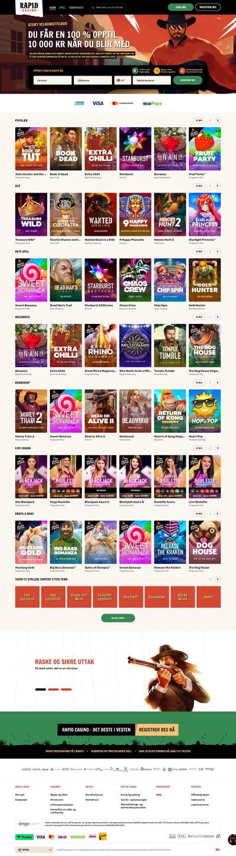Rapid Casino Screenshot
