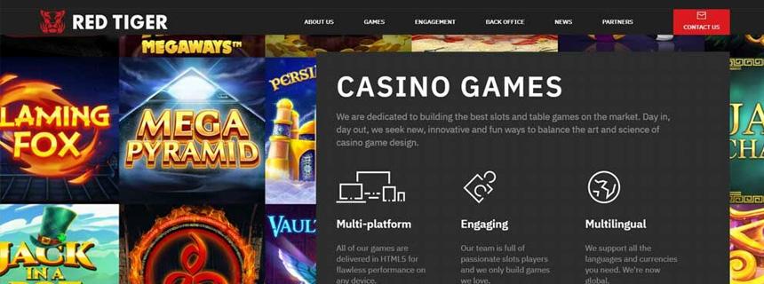 Red Tiger Gaming Spillutvalg - CasinoTopp