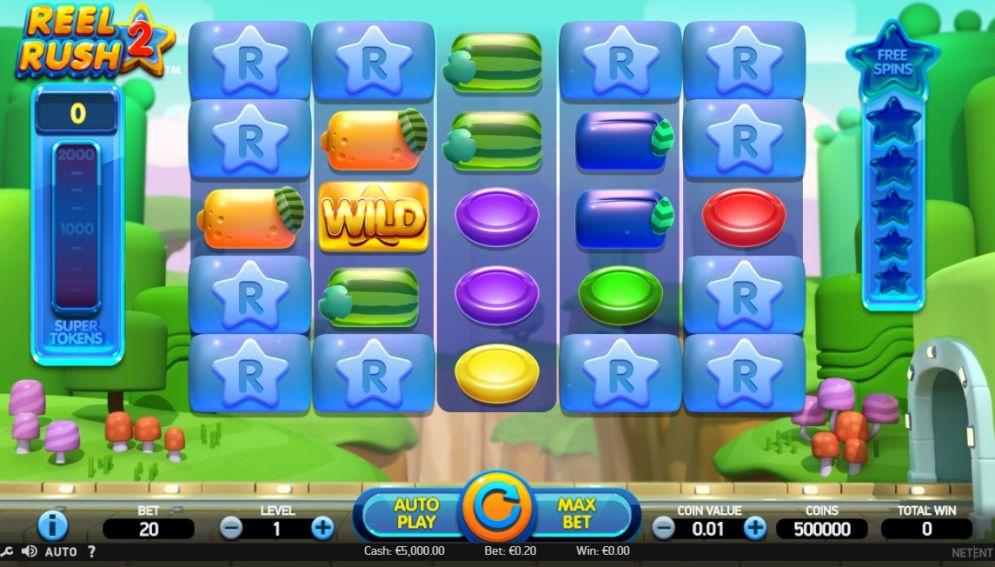 Reel Rush 2 slot Images - CasinoTopp