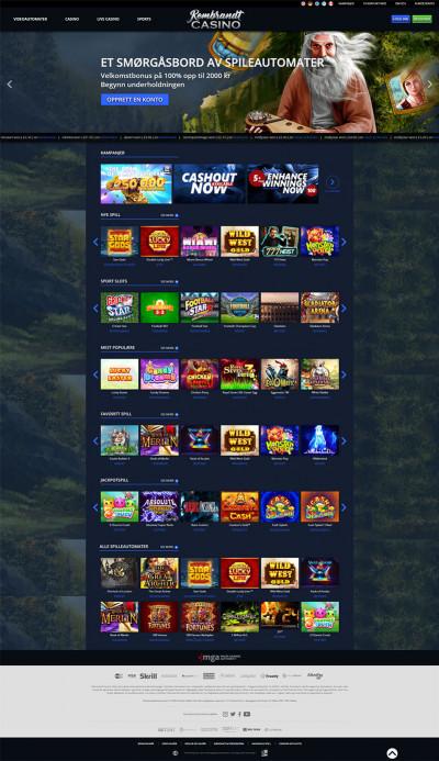 Rembrandt Casino Screenshot