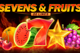 Sevens&Fruits: 20 Lines